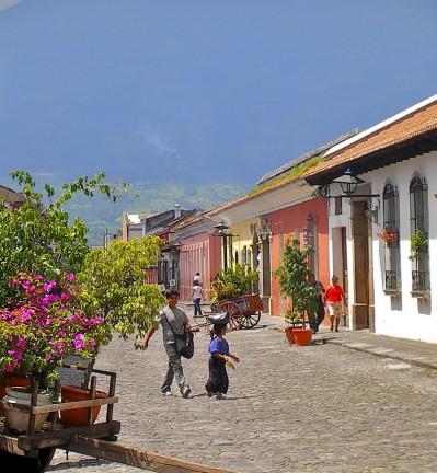 Guatemala Antigua vieille ville 003