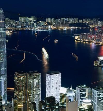 Hong Kong Baie et Sampan