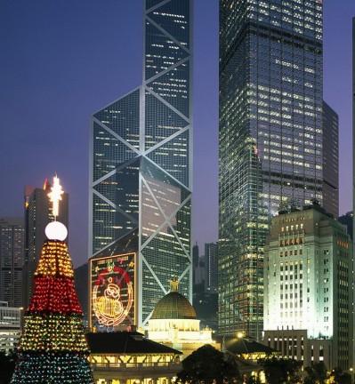 Hong Kong Croisière de nuit dans la Baie 001