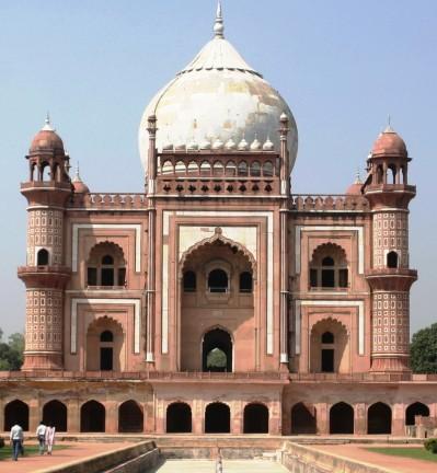 Taj Mahal, le monument Moghol  à Agra en Inde