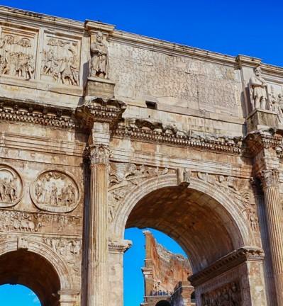Italie Rome Arc de Constantin