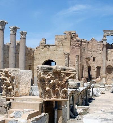 Libye Leptis Magna site antique 003