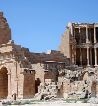 Libye Sabratha site antique