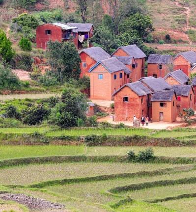 Madagascar Tananarive Village