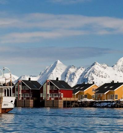 Sognefjord en Norvège
