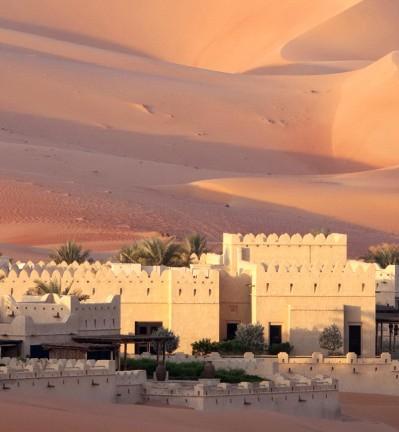 Circuit combiné Dubai et Oman, de verre et de sable