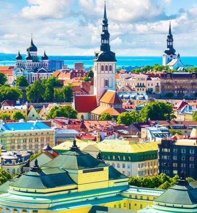 Pays Baltes Estonie Thallin 007