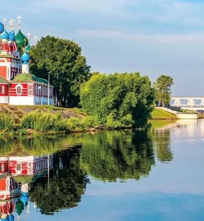Moscou, l'Anneau d'Or et Saint-Petersbourg