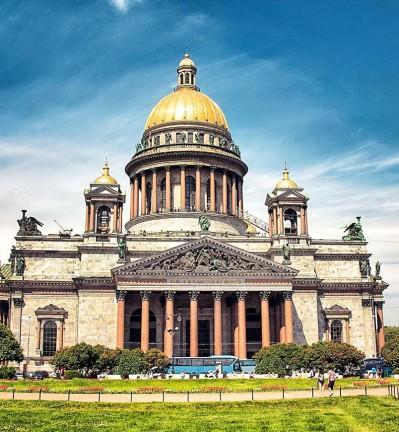 Séjour à Saint-Petersbourg