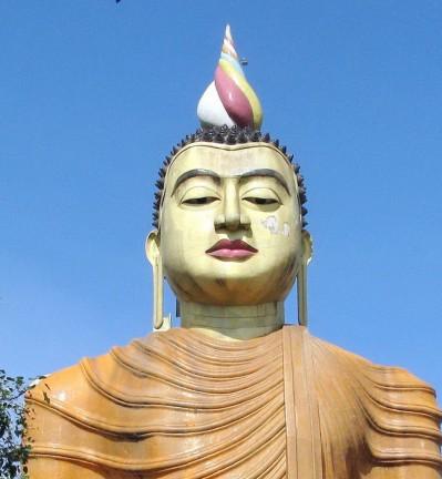 Sri Lanka Dambulla Monastère Statue de Bouddha 002