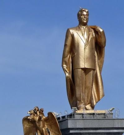 Turkménistan Ashqabad Mausolée de Niazov
