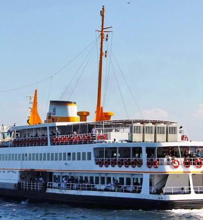 Turquie Istanbul sur les rives de la rivière Bosphore
