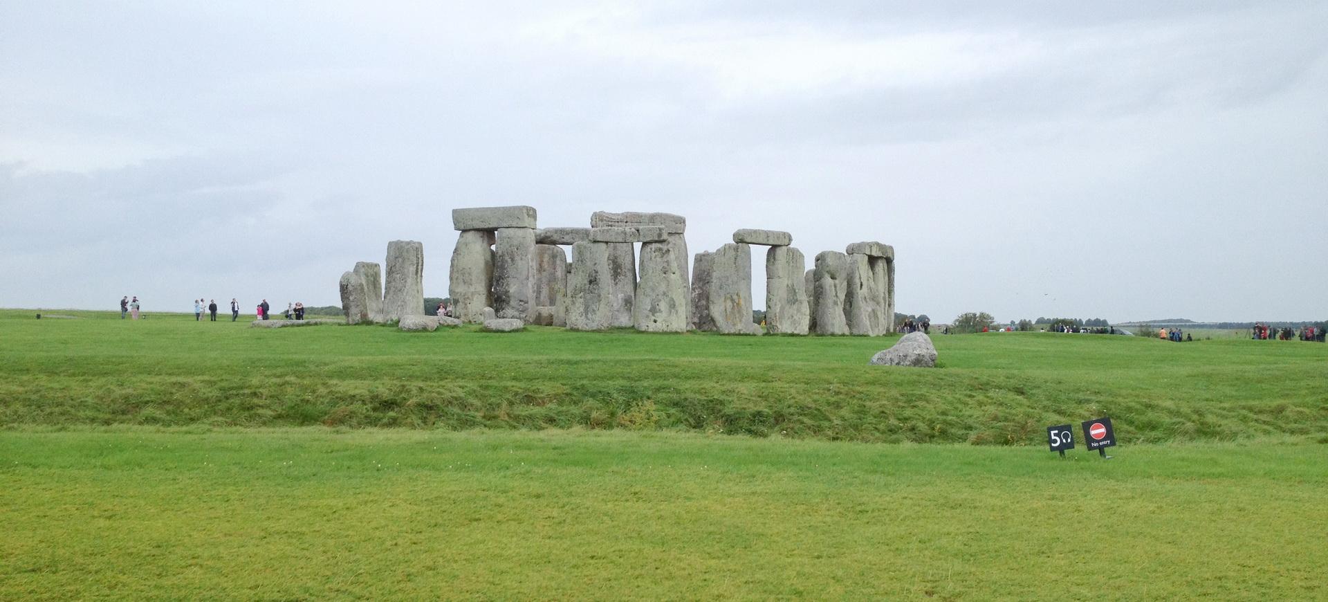 Stonehenge monument mégalithique au Royaume Uni